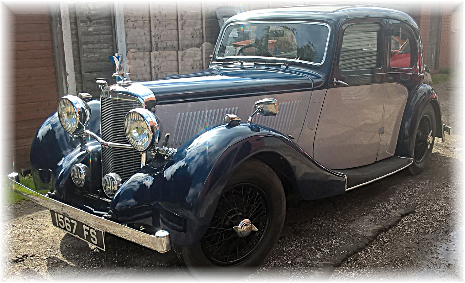1938 alvis 12  70 sports saloon  u2013 sold