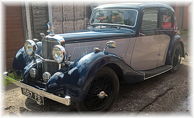 1938 Alvis 12 70 Sports Saloon ndash SOLD Kult Kars
