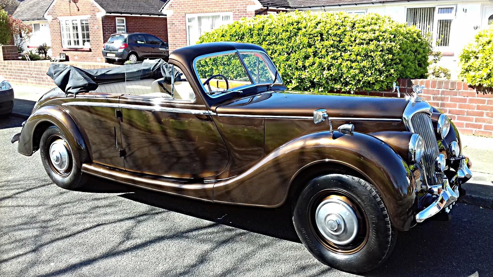 1948 Riley Rm 2 5 Litre Drophead Sold Kult Kars