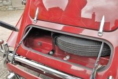 MG YT 3376 (H) Spare Wheel Locker