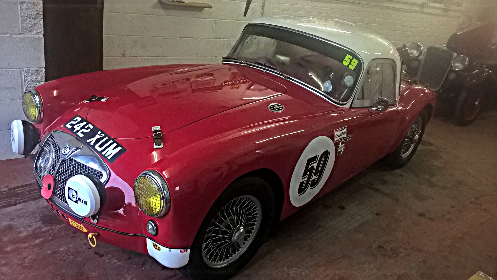 1959 MGA Race Car – SOLD | Kult Kars